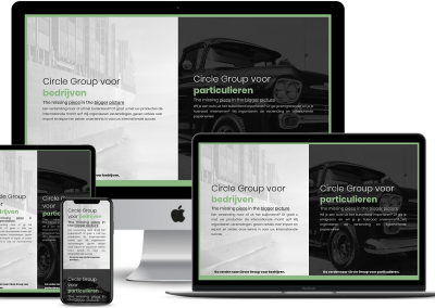 Circle Group Consulting – Webdesign